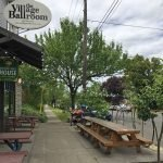 The Oregon Public House Portland outdoor dining