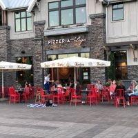 Pizzeria Sul Lago Lake Oswego outdoor dining