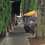 Russell Street Bar-B-Que Portland outdoor dining