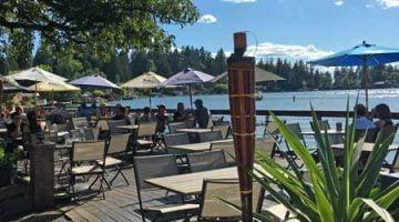 Stickmen Brewpub Lake Oswego outdoor dining