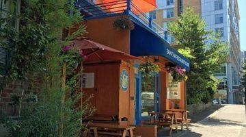 Baan Thai Portland outdoor dining