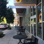 Einstein Bros. Bagels Portland PSU outdoor dining