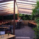 Gladstone Street Pizza outdoor dining