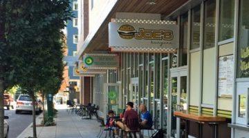 Joe's Burgers, PSU Area of Portland outdoor dining