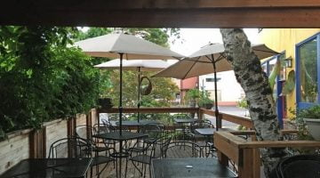 Cafe Du Berry Portland outdoor dining