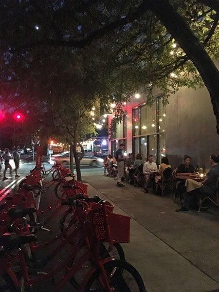 Ava Gene's Portland outdoor dining