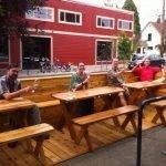 Portland Bottle Shop outdoor dining