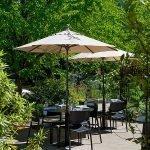 Cafe Castagna restaurant Portland outdoor dining