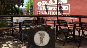 Grain & Gristle Portland outdoor dining