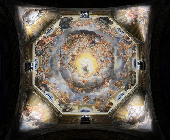 Assumption by Correggio - Parma Cathedral