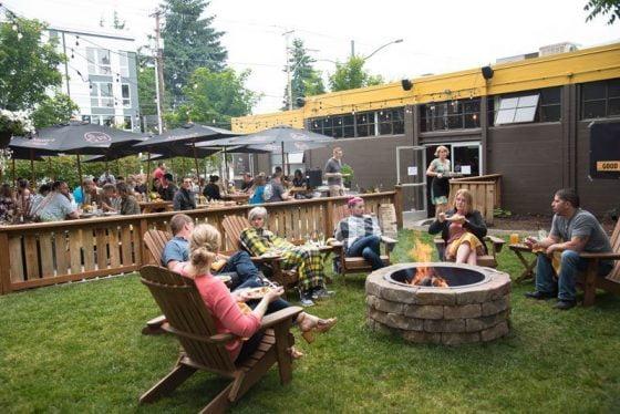 Patton Maryland Portland outdoor dining