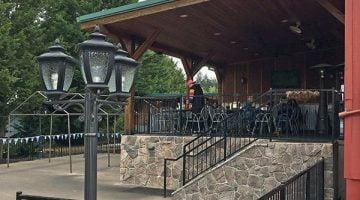 Helvetia Tavern Hillsboro outdoor dining