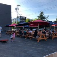 Olympia Public House Division patio Portland