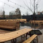Wayfinder Beer outdoor dining portland