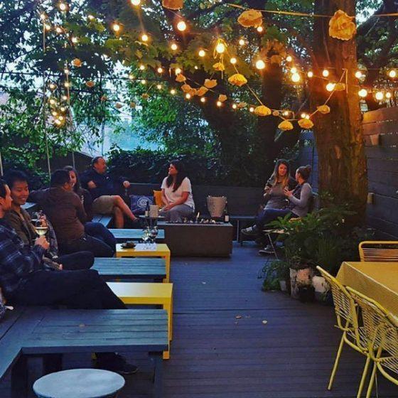 Buttercraft Portland outdoor dining