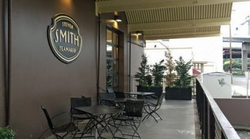 Patio at Smith Teas Portland