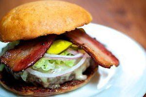 Burger at Tasty n Sons Portland