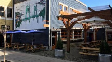 The Sudra - St. John's Portland outdoor dining