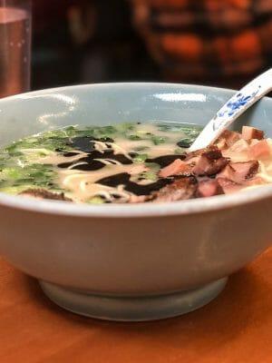 Boxer Ramen soup