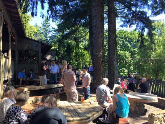 Skyline Tavern Beer Garden Portland