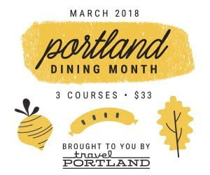 Portland Dining Month logo 2018