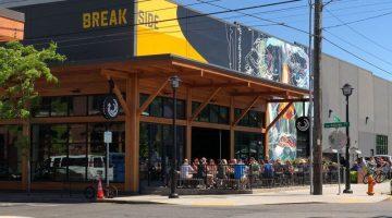 Breakside Brewing Slabtown Portland outdoor dining