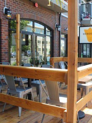 Bergerac Portland outdoor dining