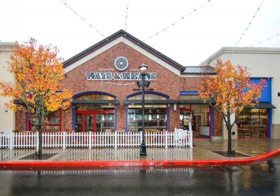 Ways & Means Oyster, Bridgeport, patio