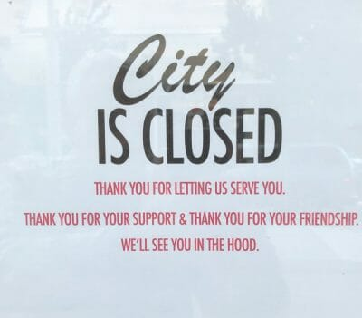 City Rotisserie Bar & Grill Portland closed