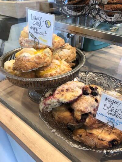 ecadent Creations Bakery scones