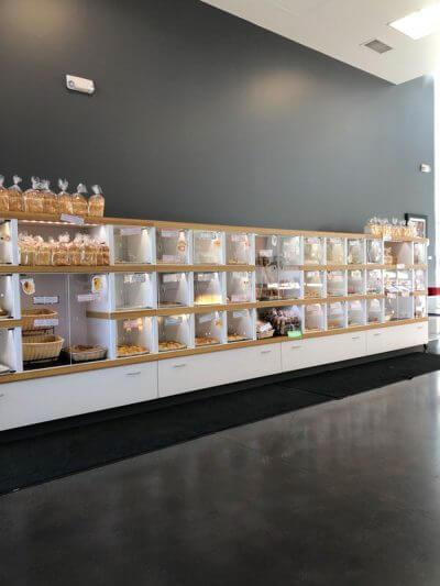 Oyatsupan Bakery Beaverton interior