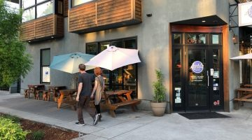 Aybla Grill, Division St. Portland patio