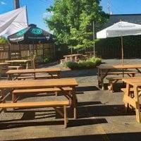 Beeswing Restaurant outdoor dining Portland