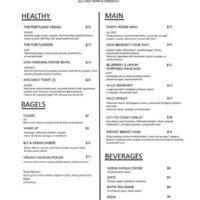 Craft PDX Restaurant Menu page 2