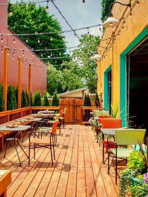 Culture Mediterranean restaurant patio