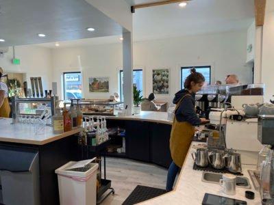 Lionheart Coffee on Watson, Beaverton. Interior