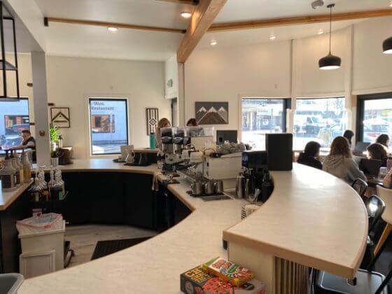 Lionheart Coffee Watson interior