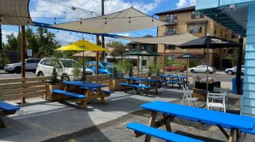 Flying Fish Company Portland outdoor dining